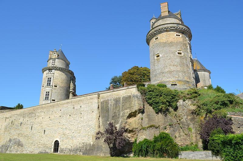 Chateau d'Apremont (Vendée)