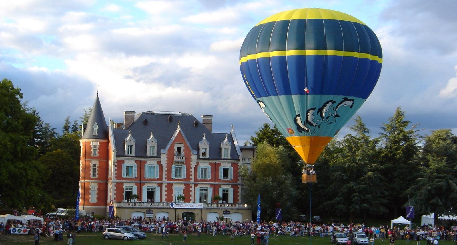 Annonay, site historique de la montgolfière