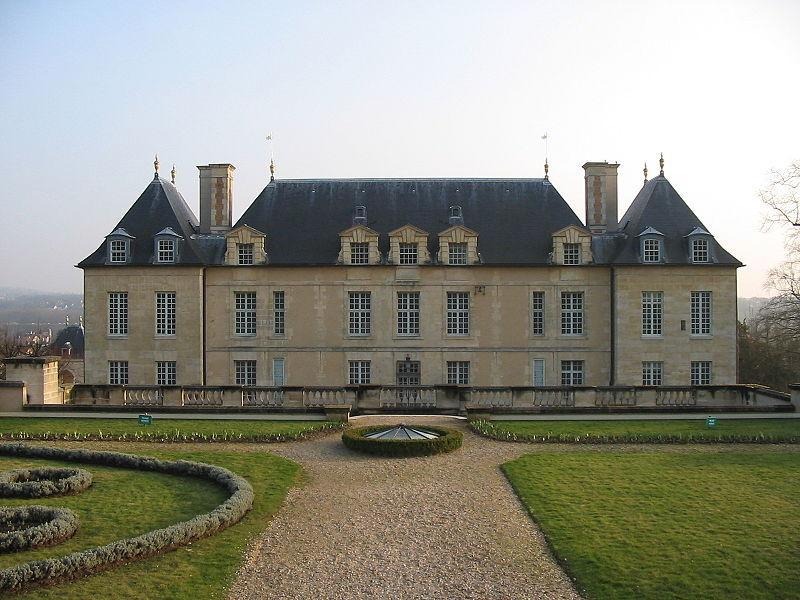 Château d'Auvers-sur-Oise, vue arrière. Musée des impressionnistes