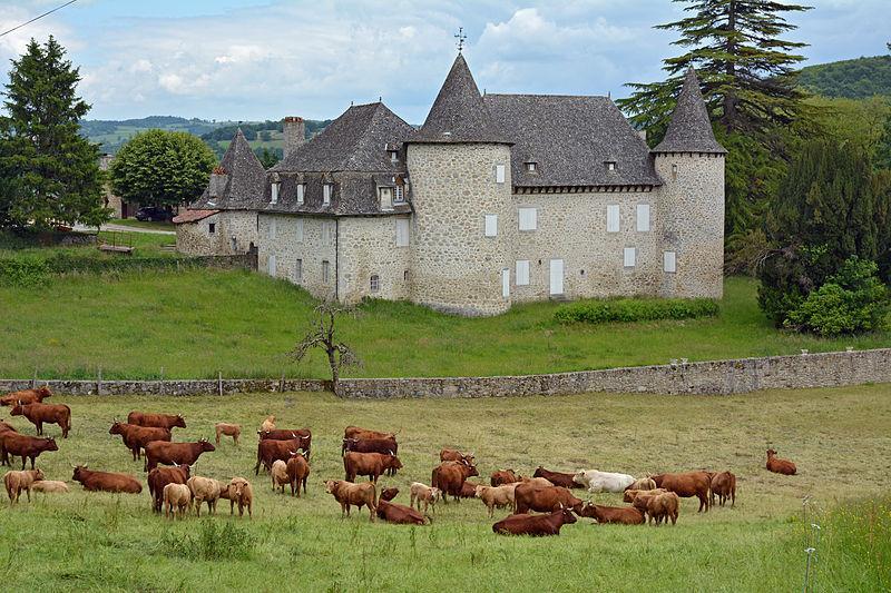 Château d'Entraygues, Cantal Auvergne, France