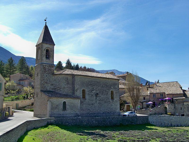 Savoillan - église
