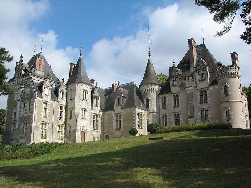 Chateau de Candé à Monts