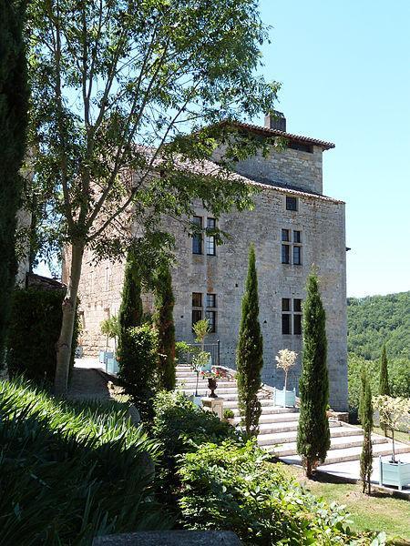 Château de Cas - Jardins