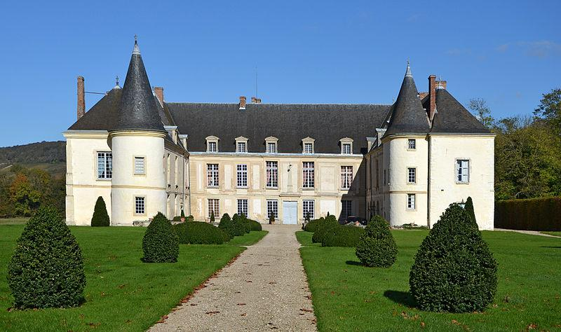 Chateau de Condé, Condé en Brie, Aisne, Picardie, France