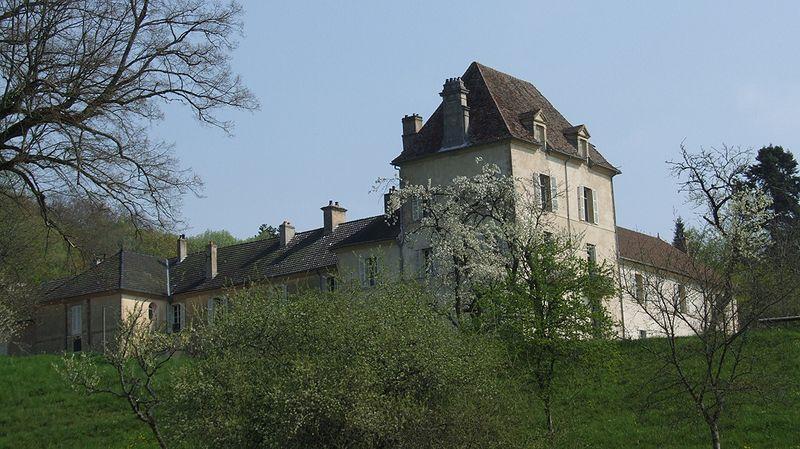 Château de Lantenay, Lantenay, Côte-d'Or, Bourgogne, FRANCE
