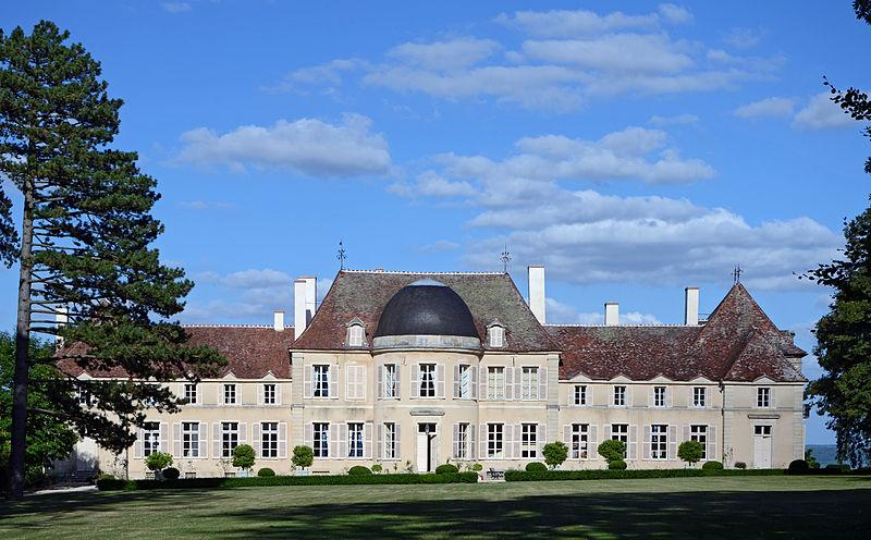 Chateau de Lantilly, Côte d'Or, France