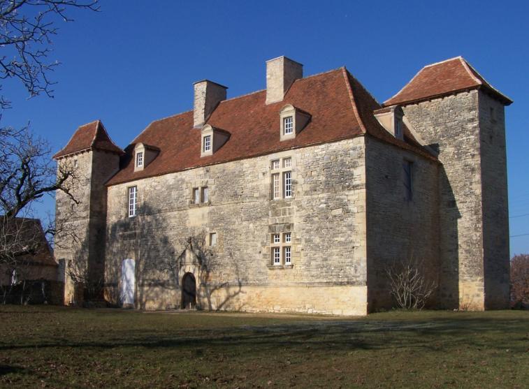 Château de Lantis Dégagnac Lot (46) France