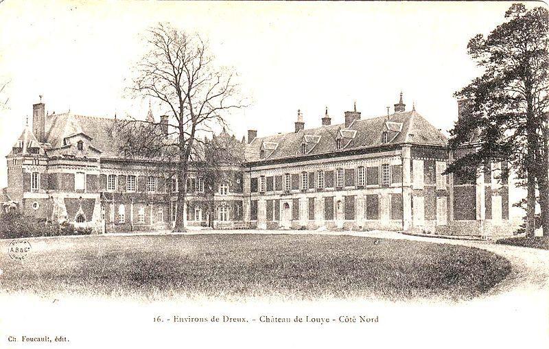 Château de Louye (côté Nord)