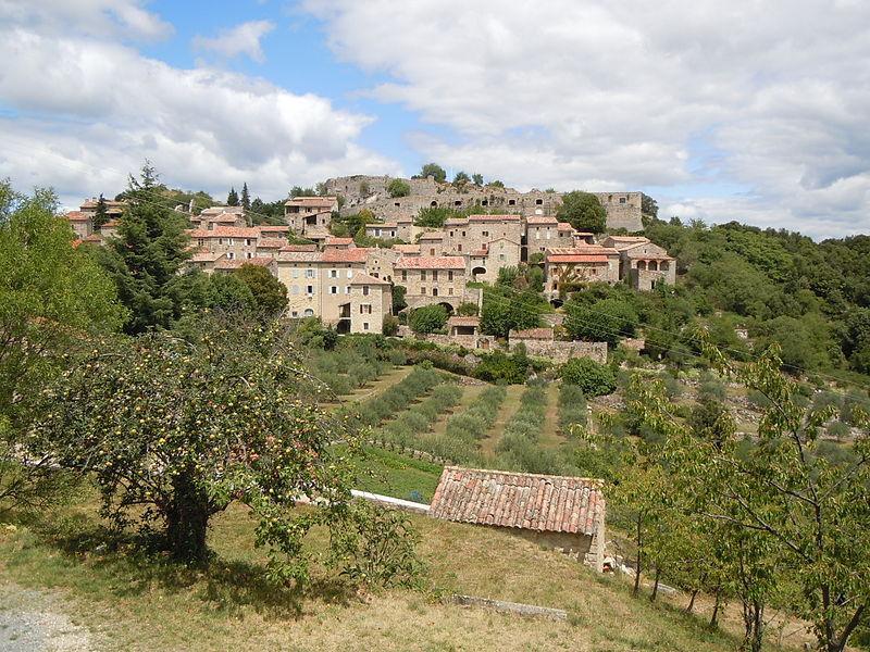 Site du Chateau de Banne