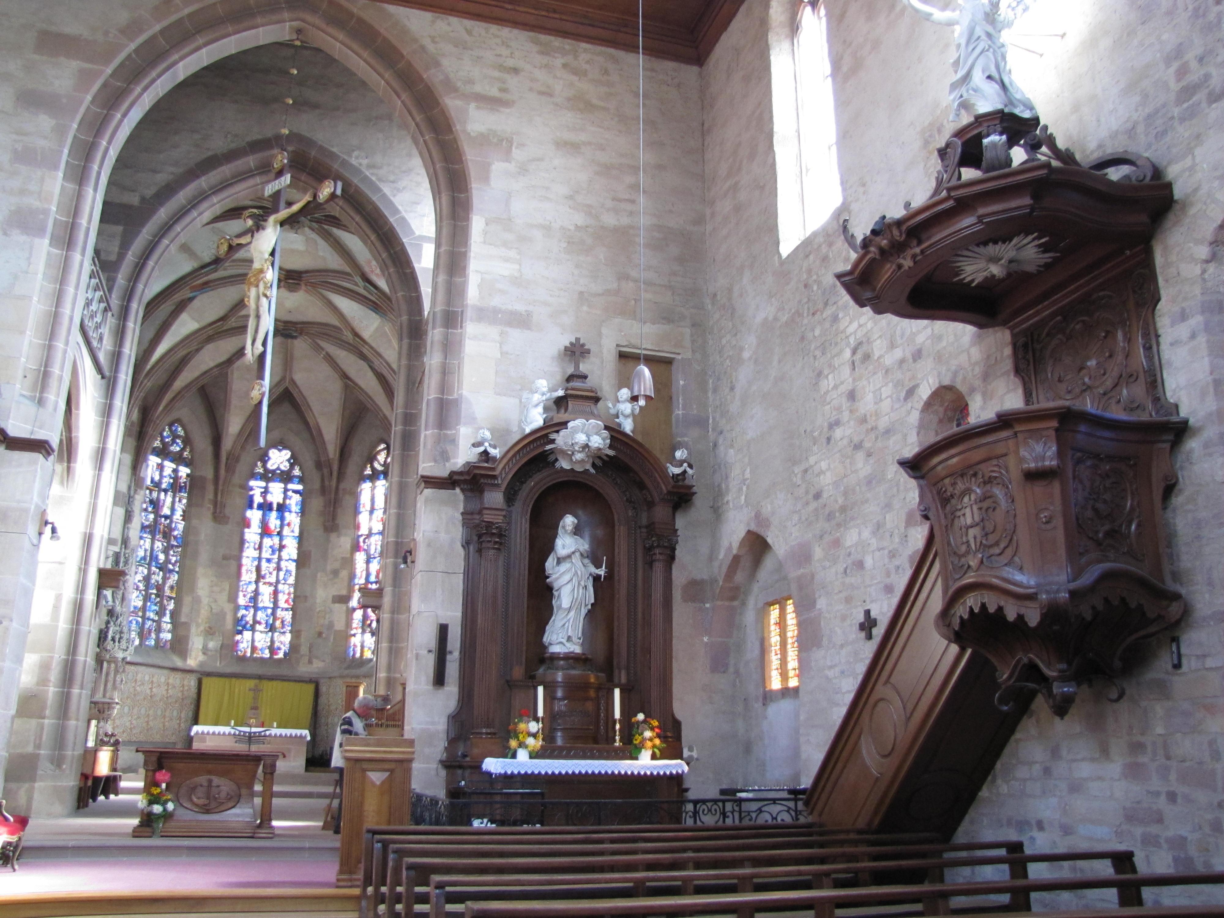 Église Abbatiale de Walbourg
