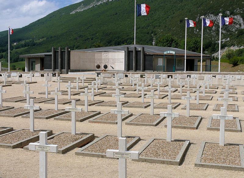 Vassieux-en-Vercors - Nécropole