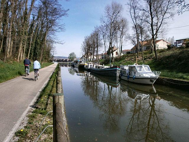 Chagny - Canal centre