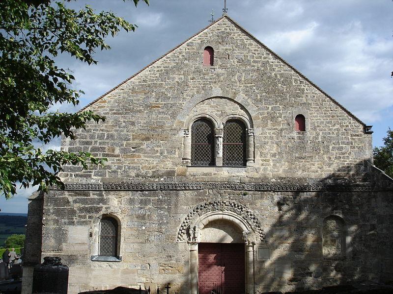 Façade église Clefmont