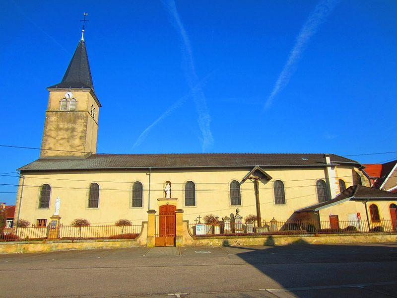 Eglise Courcelles Chaussy