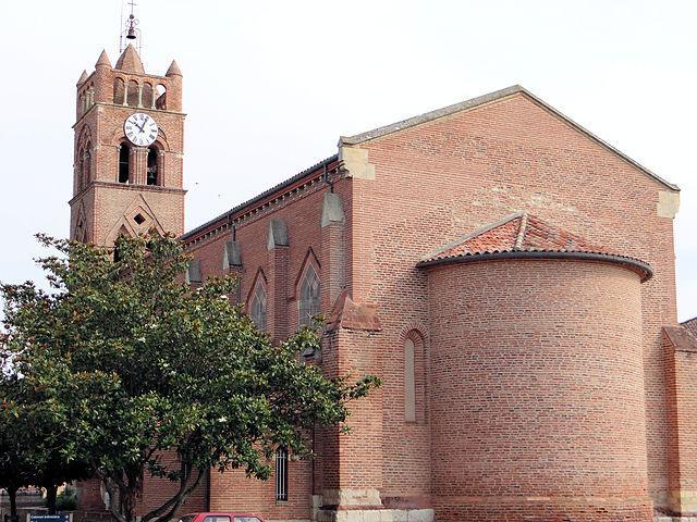 Donzac - Église de l'Assomption