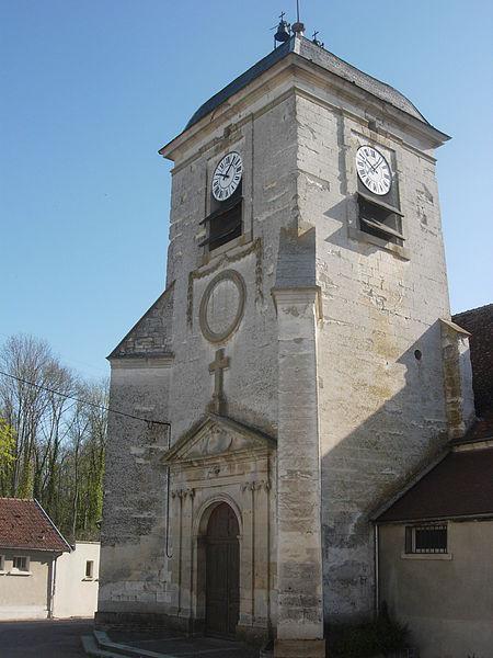 Eglise d'Estissac