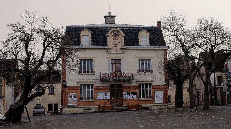 Graçay - Hôtel de ville