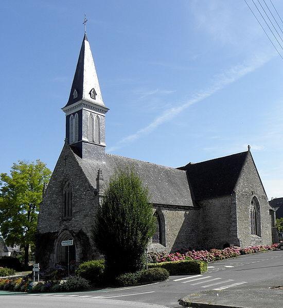La Chèze - Église
