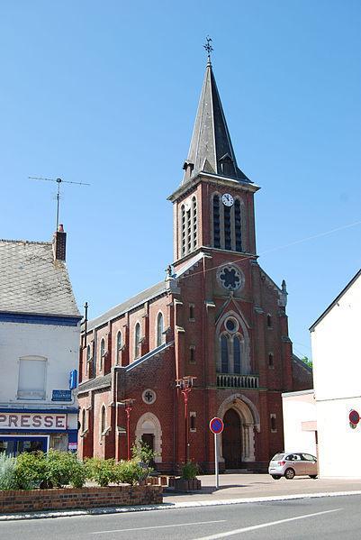 Hirson Eglise Notre Dame de Lourdes