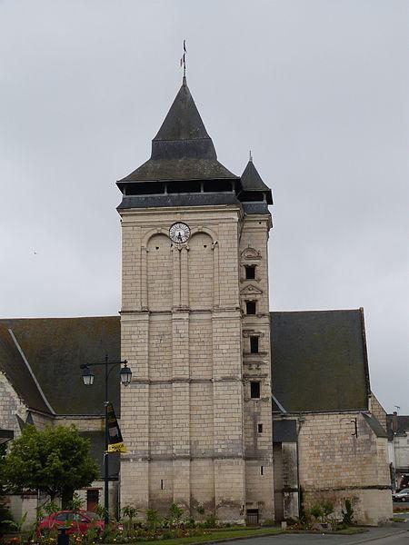 Clocher de l'église Notre-Dame des Rosiers-sur-Loire