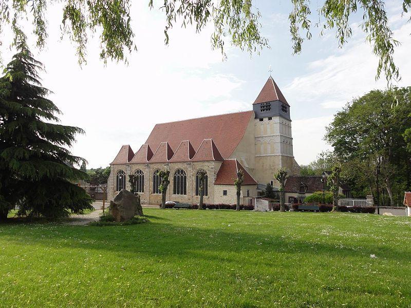 Église Saint-Pierre et Saint-Paul, Courtenay