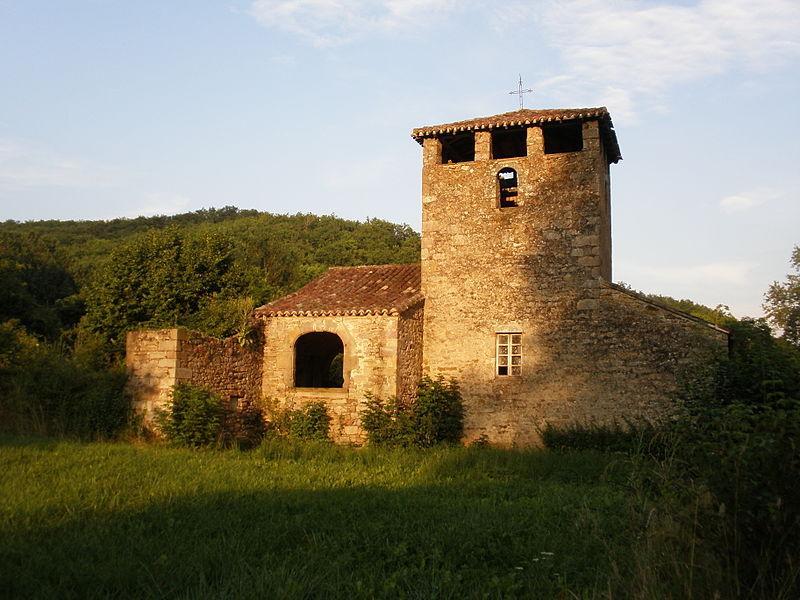 Laguépie, l'église de Puech Mignon