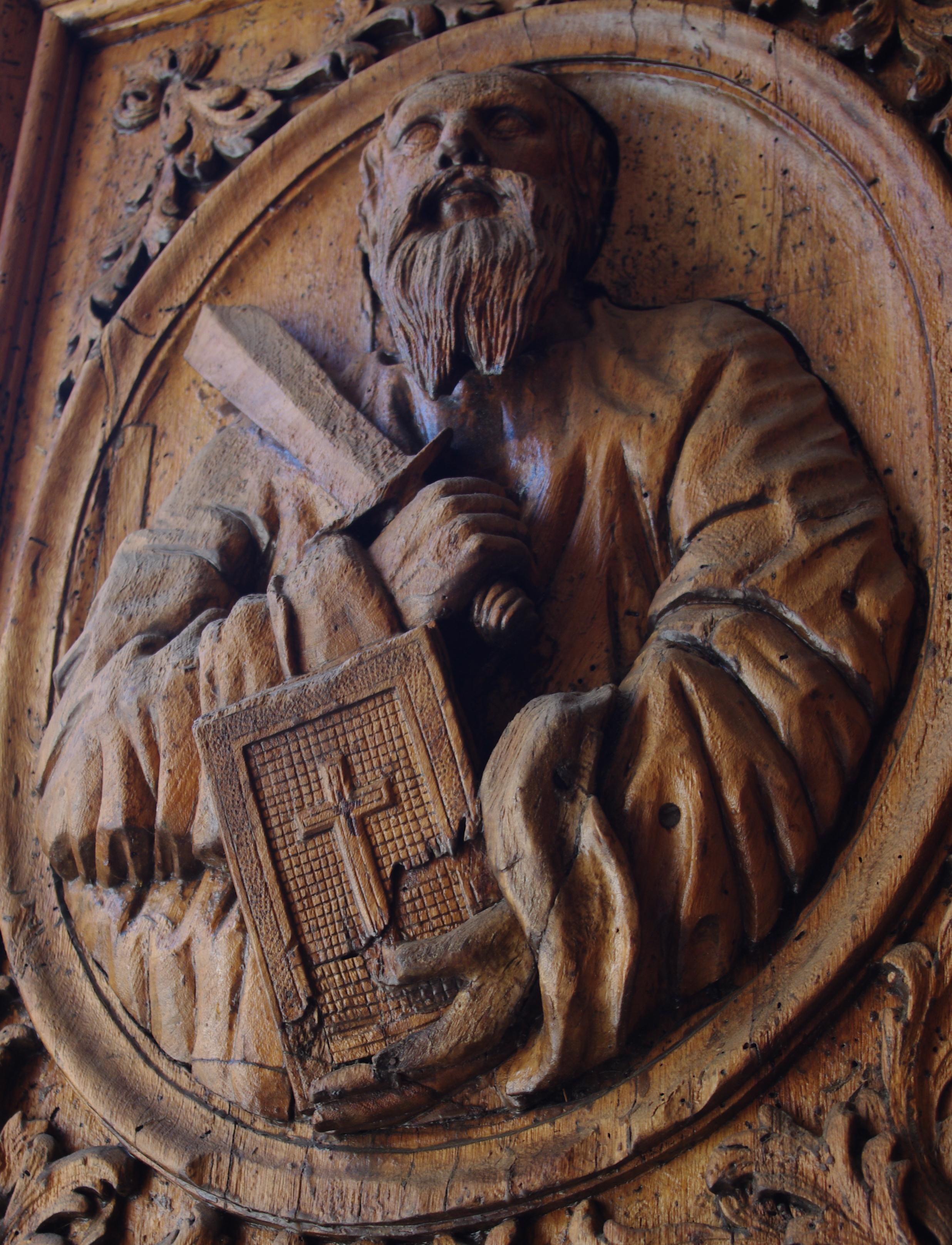 portail de l'église Saint-Sauveur