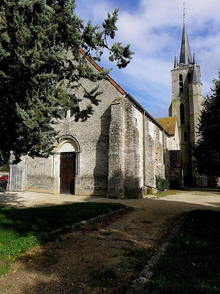Lorrez-le-Bocage-Préaux - Église Sainte-Anne