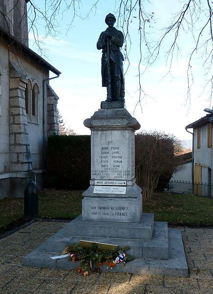 Monument aux morts de Loures-Barousse