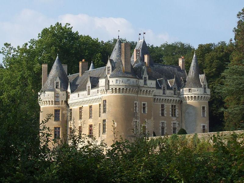 Château de Gallerande sur la commune de Luché-Pringé
