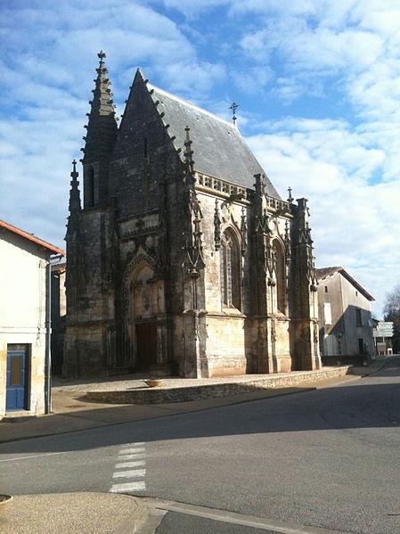 Chapelle Jean-Boucard - Ménigoute