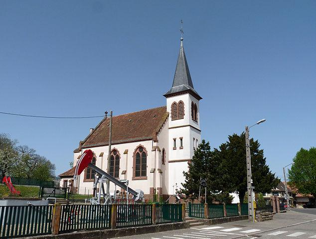 Eglise de Merkwiller-Pechelbronn