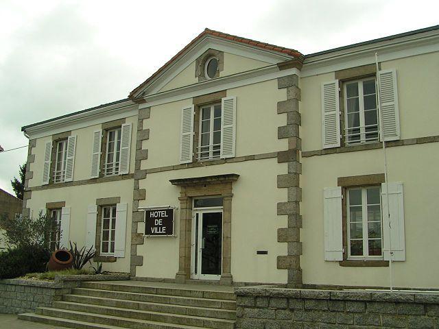 Hotel de ville de Moncoutant