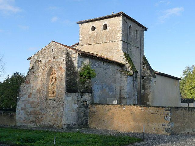 Eglise de Challaux, Montlieu-la-Garde