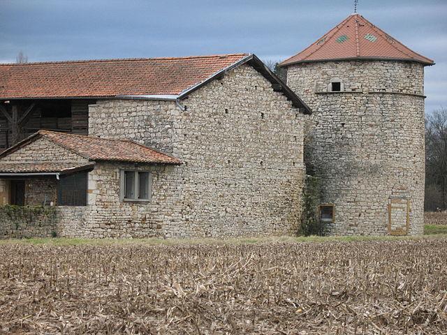 Maison forte de l'Izérable à Morancé