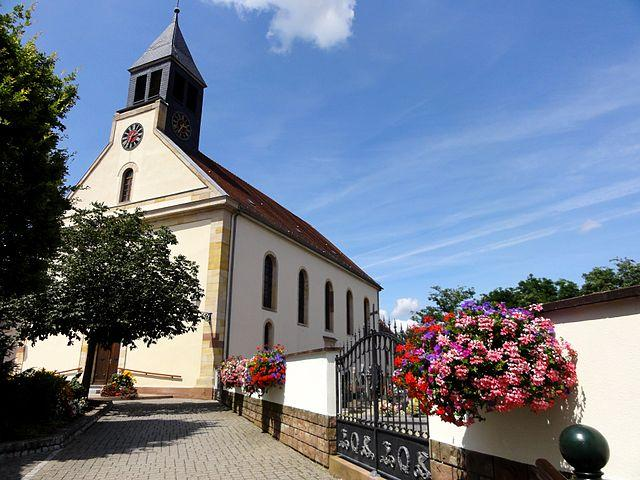 Munchhausen, Eglise Saint-Pantaléon