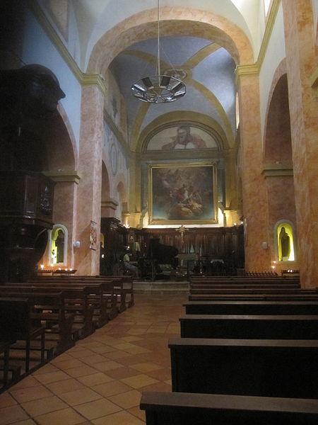 Église Saint Trophime : intérieur
