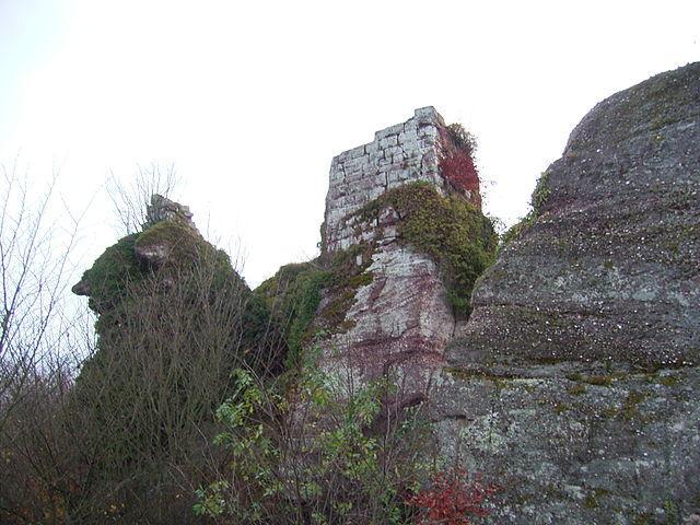 Oberhaslach - Château du Grand Ringelstein