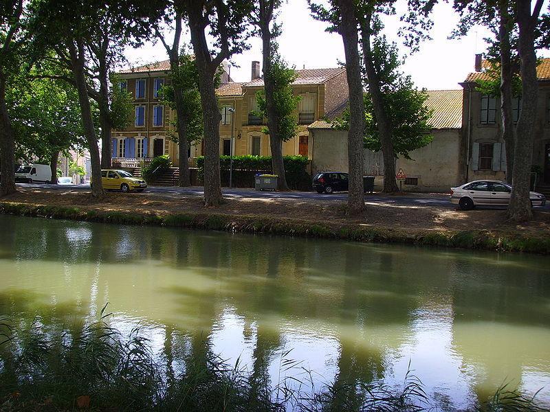 Sallèles d'Aude, Canal de Jonction