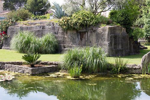 Image : Jardin de Saint-Adrien