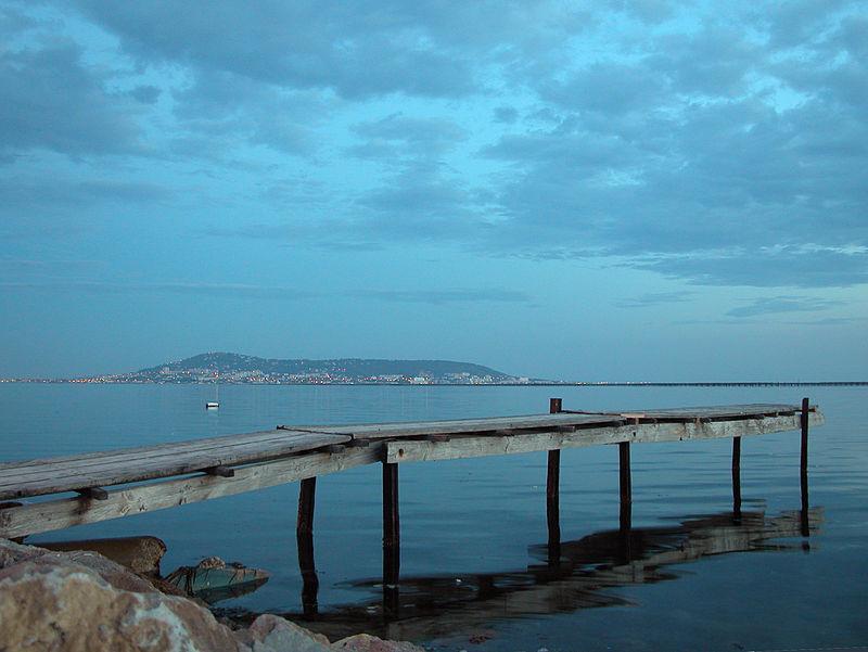 Image : Site de plongée Du bord Etang de Thau