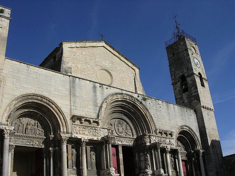 Image : Abbatiale de Saint Gilles