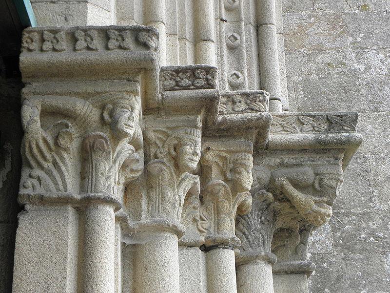 Lamballe (22) Collégiale Notre-Dame Extérieur