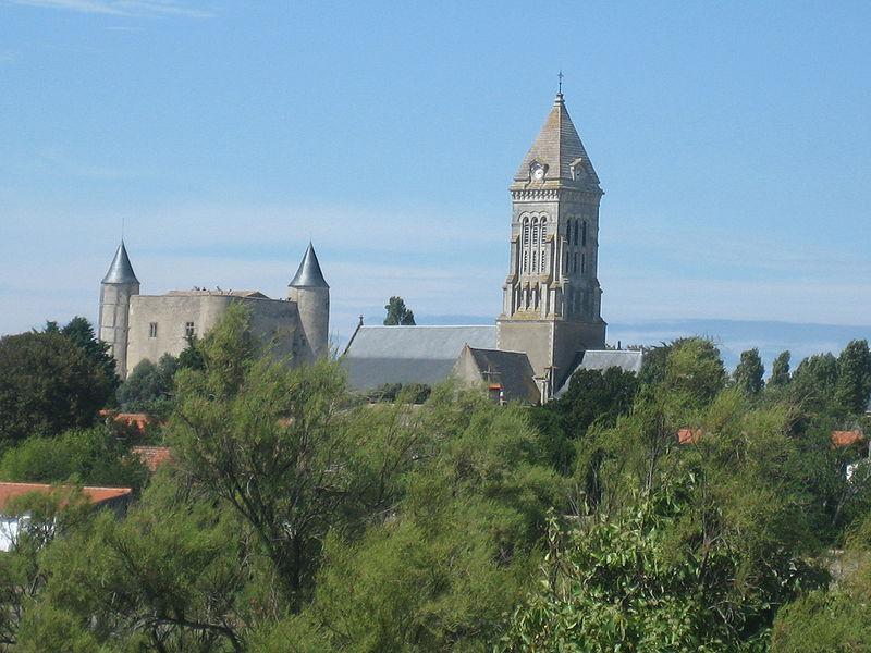 Église Saint-Philbert, Noirmoutier-en-l'Île