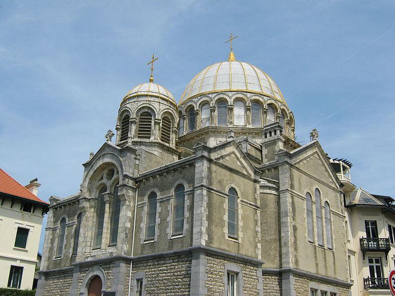 Biarritz eglise orthodoxe