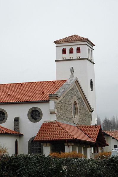 Hendaye, l'église Saint-Vincent