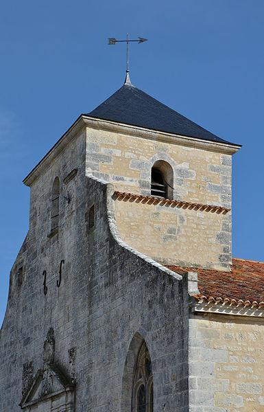 Clocher de l'église de Brouage