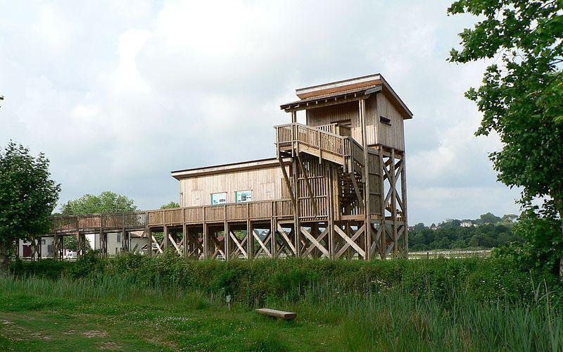 Observatoire ornithologique à la plaine d'Ansot