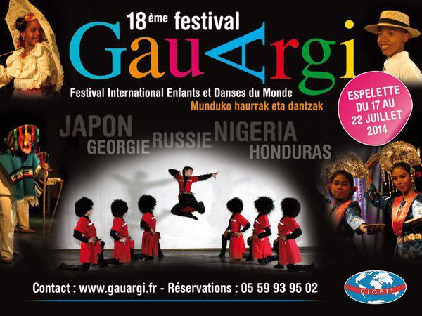 Festival international de danse Gauargi