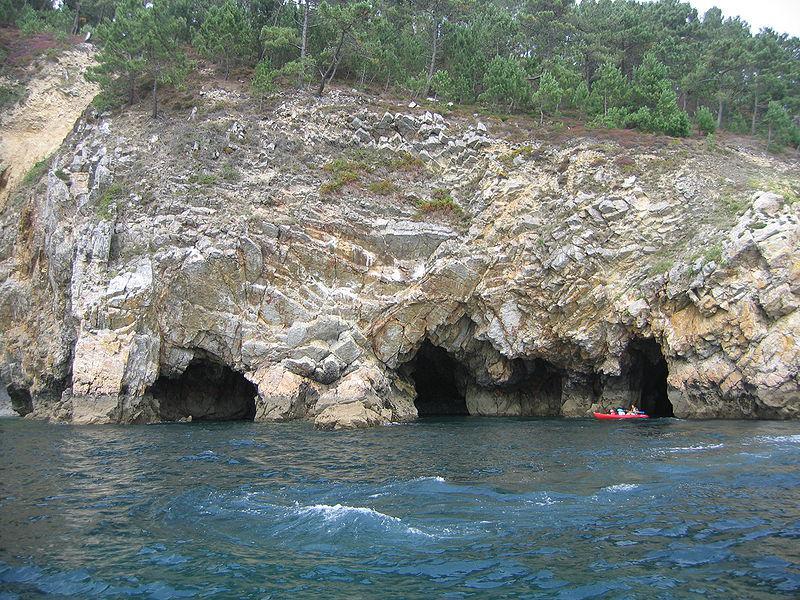 Image : Grottes marines de Morgat